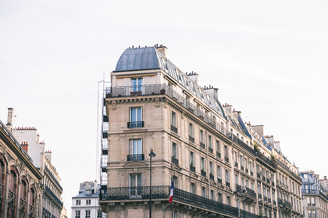 Parisian Rooftops via Find Us Lost