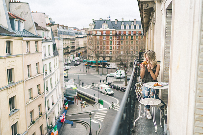 Mornings in Paris with Find Us Lost