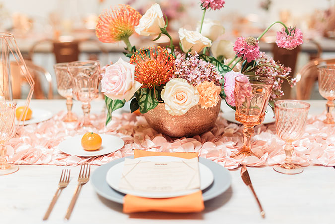 Be Inspired dinner party
