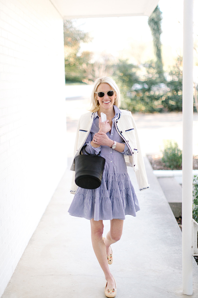Strut in a shirtdress