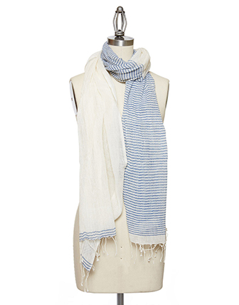 The Little Market Striped Scarf