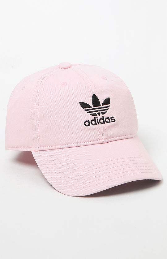 Adidas Washed Pink Strapback Dad Hat