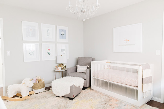 The sweetest nursery by Molly of Kind Campaign