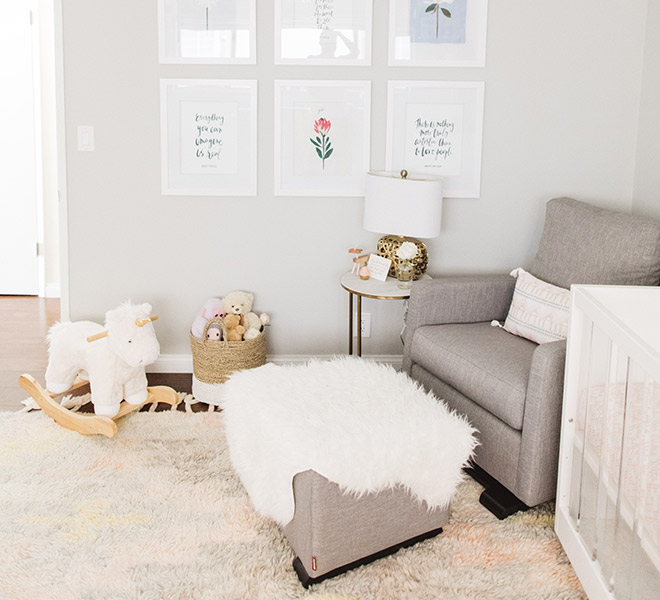 Home Tour: An Adorable Nursery for Molly of Kind Campaign - Lauren ...