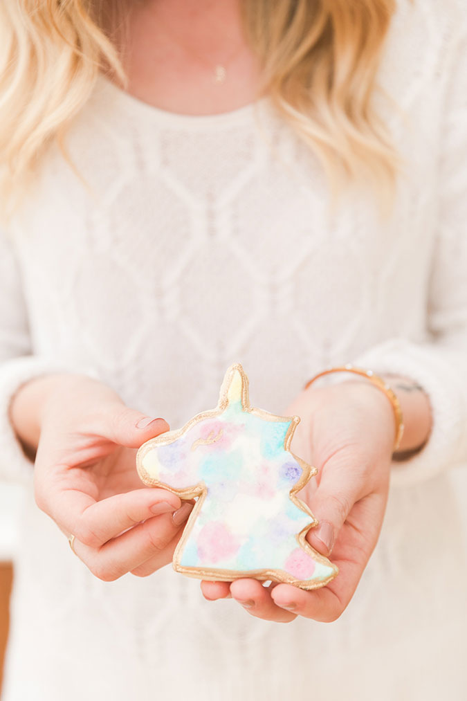 The prettiest unicorn cookies