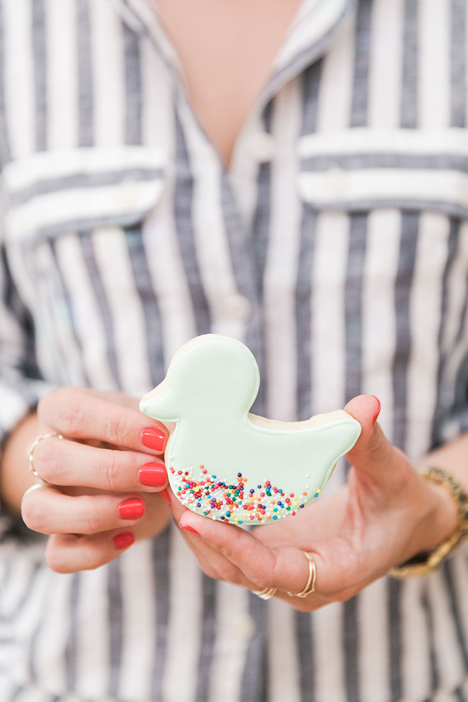 Get these baby shower cookie recipes on LaurenConrad.com