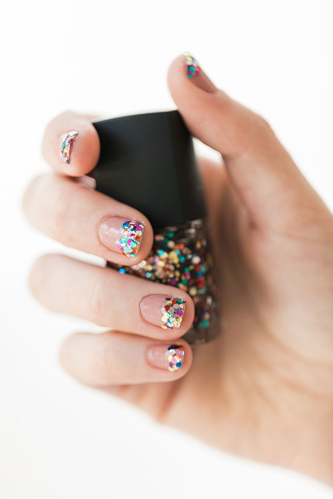 Nail Files: 3 Subtle and Sparkly Manicures - Lauren Conrad