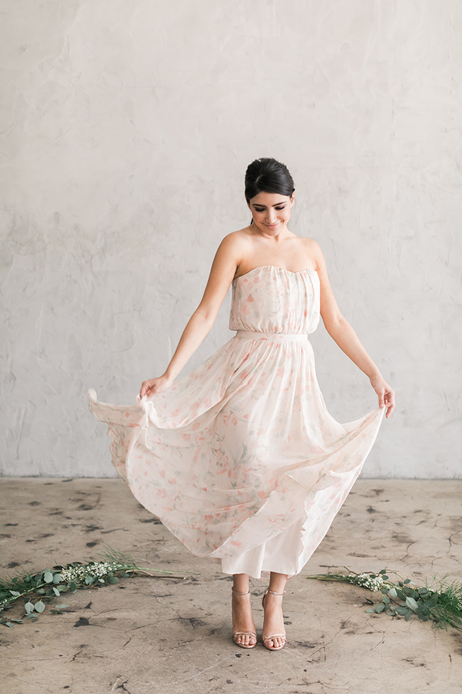 The newest Paper Crown bridesmaids dresses
