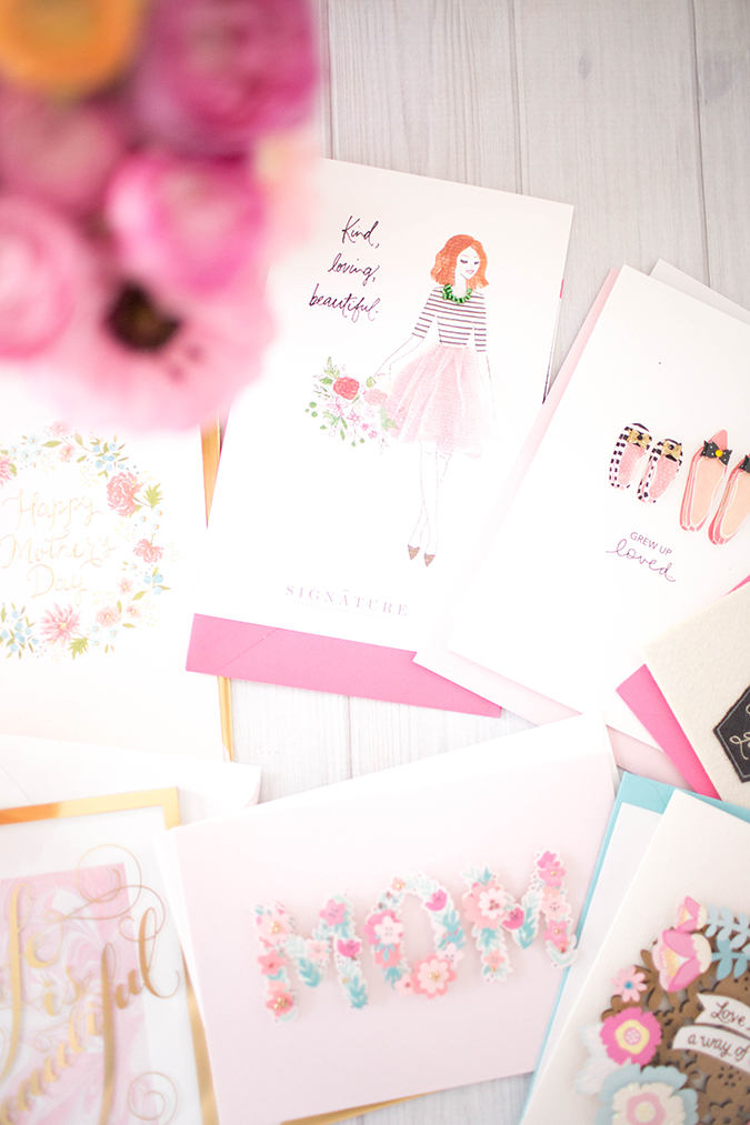 Mother's Day cards from Hallmark for our mama friends