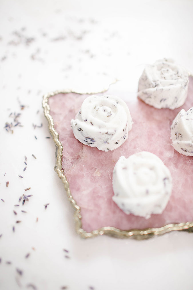 DIY Lavender bath bombs you can make at home