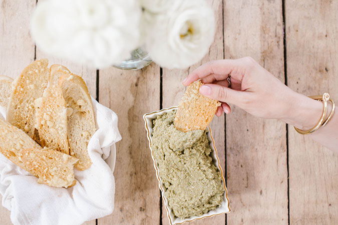 The yummiest homemade vegan pate