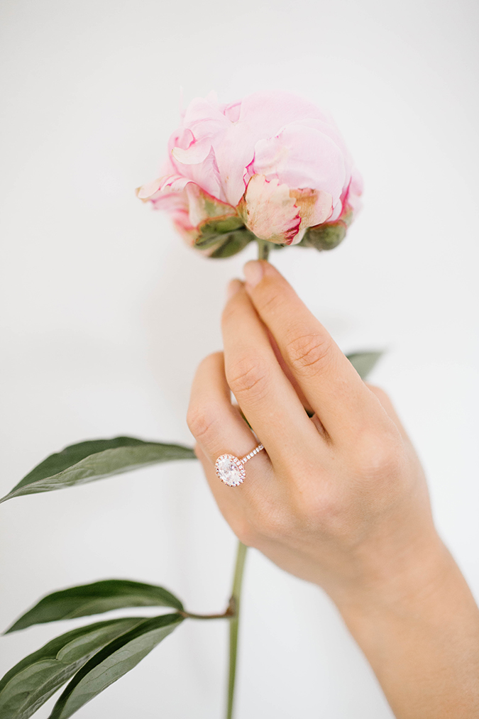 Be a prop master with your engagement ring