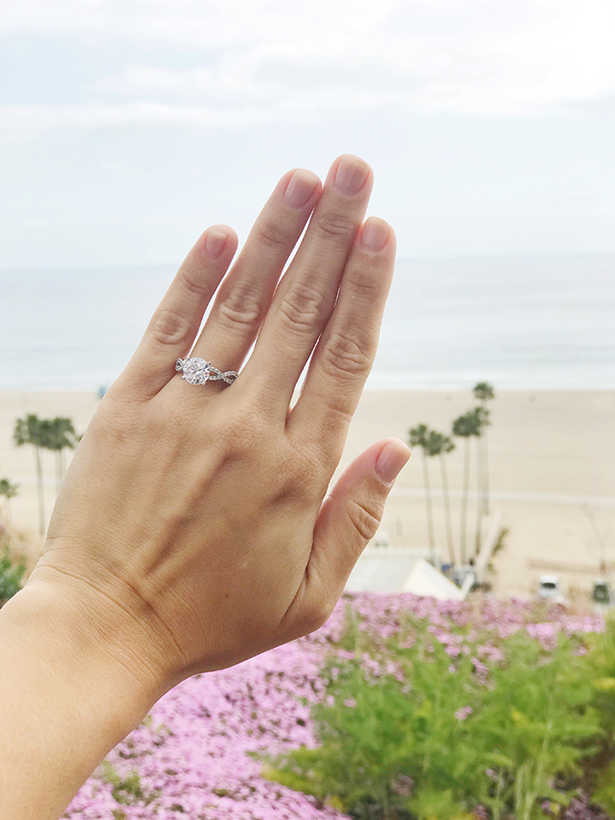 How to take the perfect ring shot after getting engaged