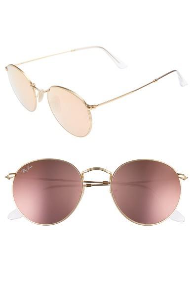 Ray Ban Icon Rose Gold Sunnies