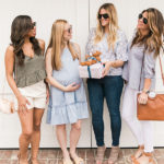 Style Guide: What to Wear to Three Different Kinds of Baby Showers