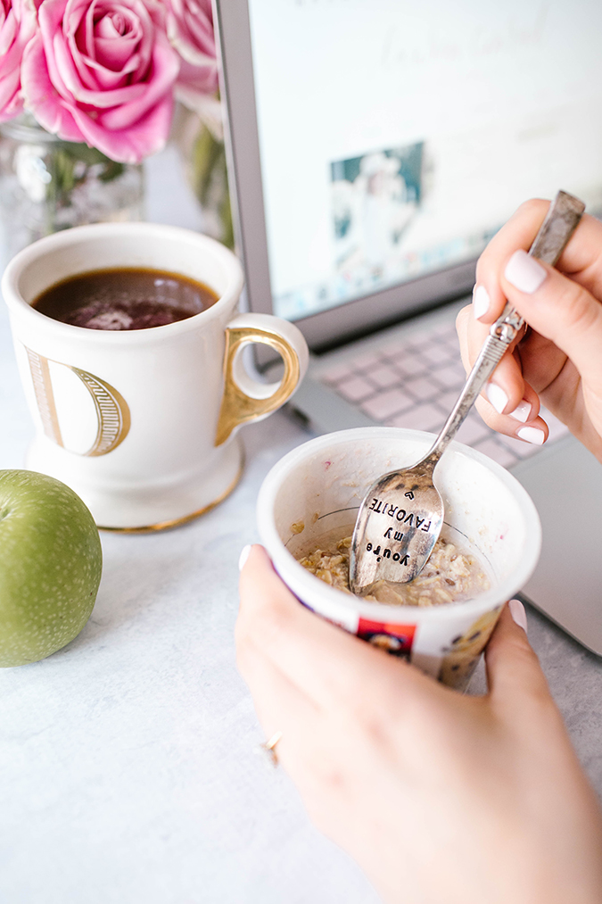 The Busy Girl's Guide to Breakfast | via LaurenConrad.com