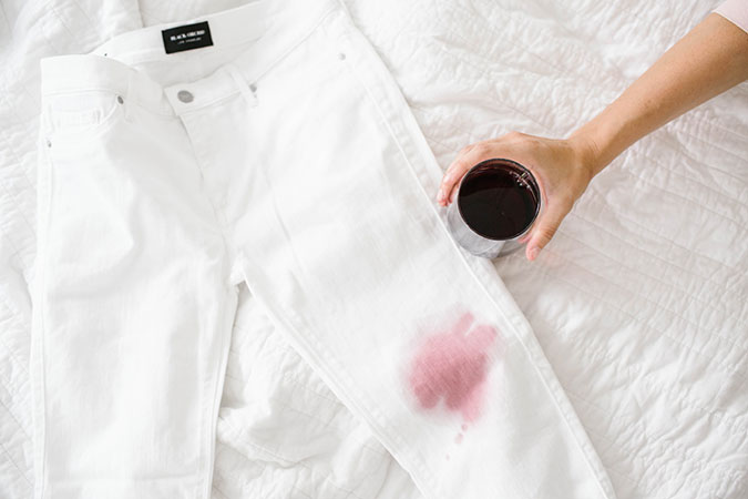How to get coffee stains out of upholstery how to get red for How to remove ink stain from cotton shirt