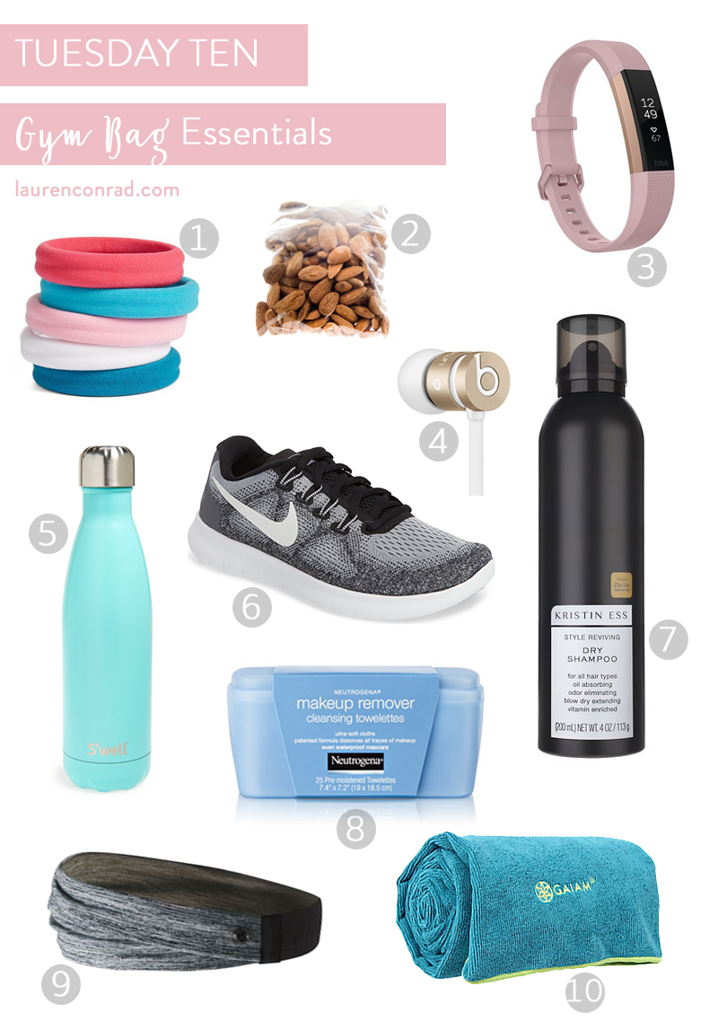things you should always have in your gym bag