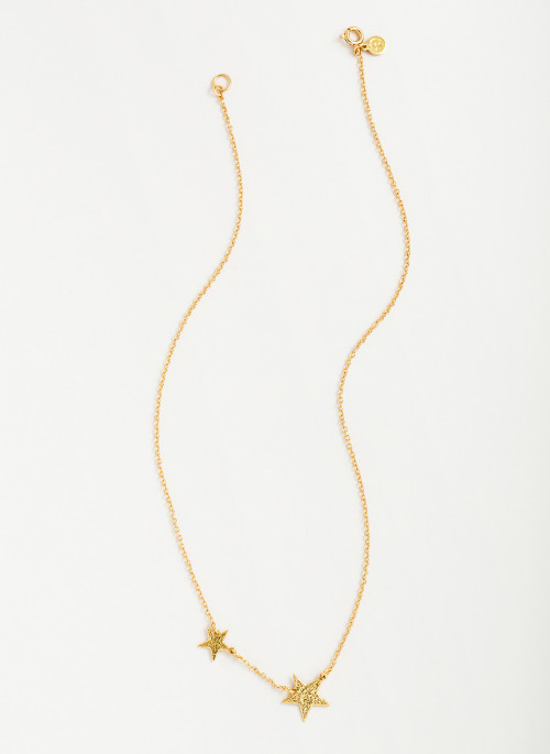 Favorite Accessory: This Gorjana Super Star Necklace would be a darling addition to any Fourth of July outfit