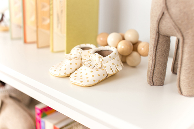 The cutest shoes for baby on LaurenConrad.com