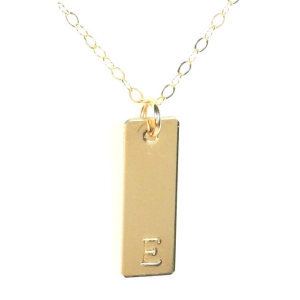 Favorite Gift: this tiny bar necklace from Bip & Bop