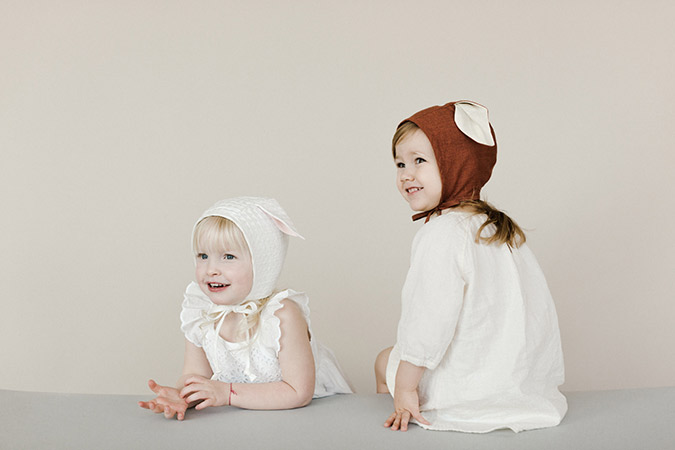 Toddler and Baby Briar Bonnets