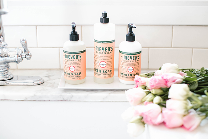 Grove Collaborative all-natural cleaning products on LaurenConrad.com