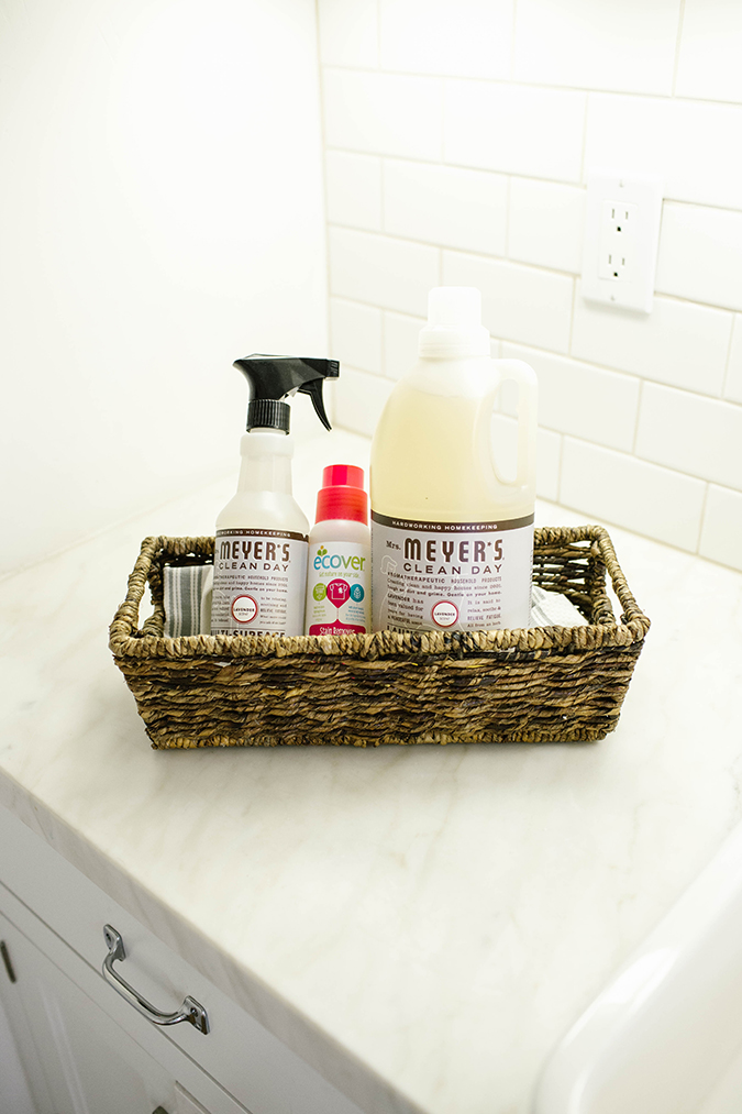 Natural home cleaning products via Grove Collaborative