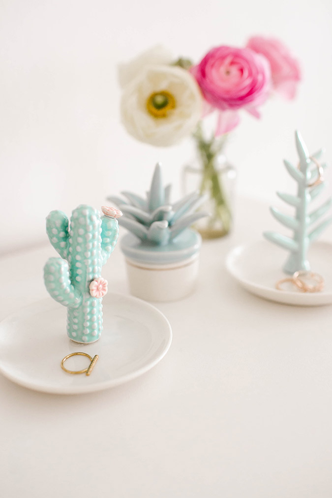 LC Lauren Conrad Cactus Ring Holder