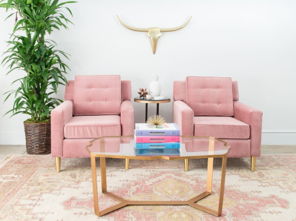 How to add pops of pink to your decor