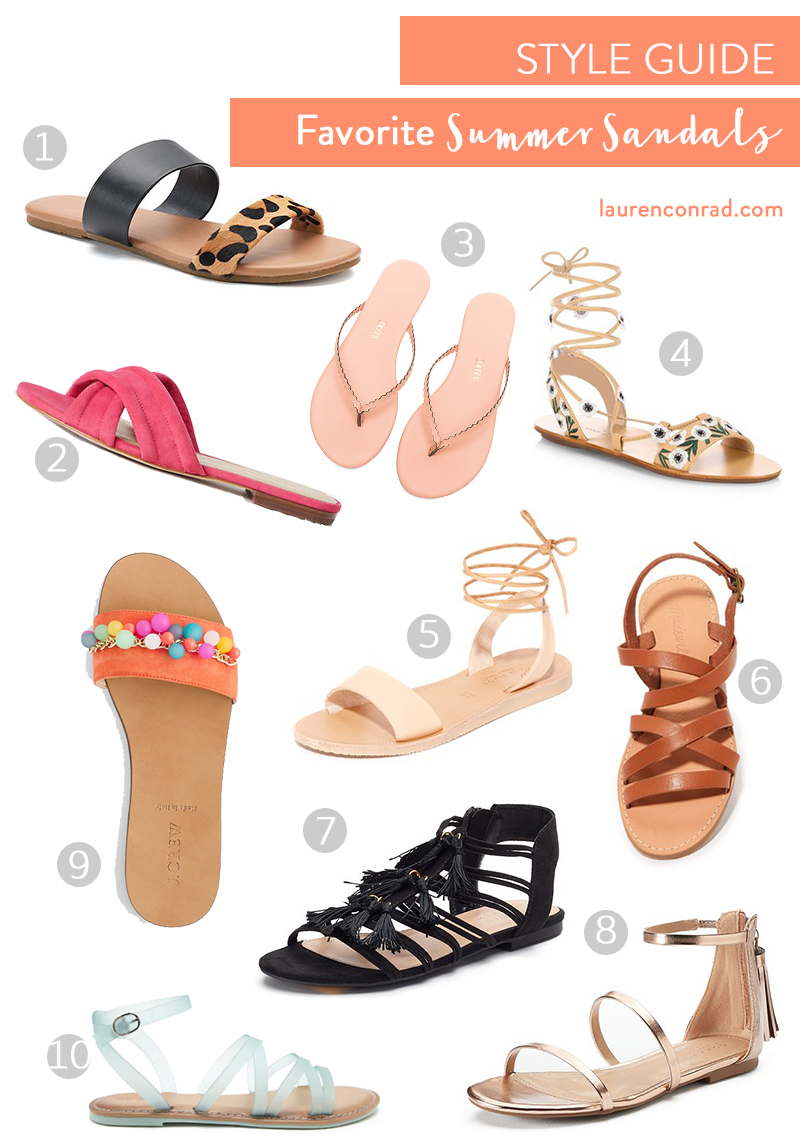 The sweetest summer sandals on LaurenConrad.com