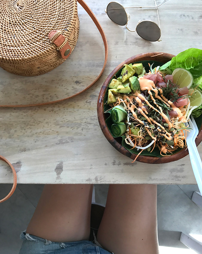 eats in Bali, Indonesia via LaurenConrad.com