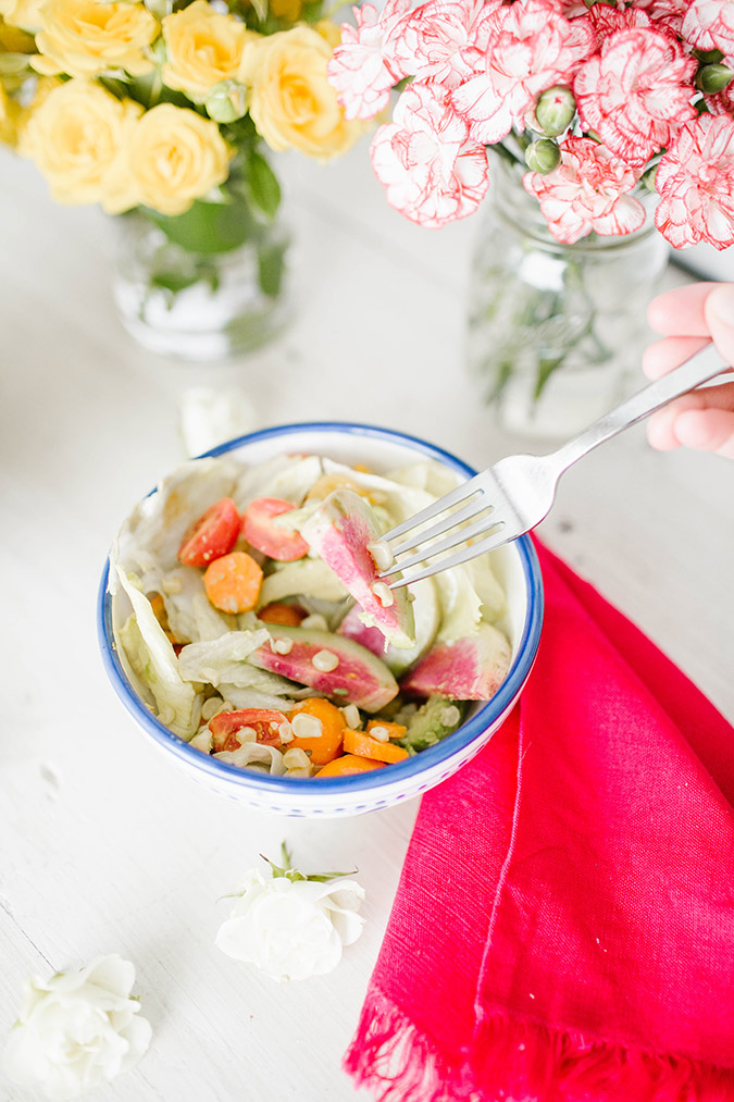 A light and delicious summer salad recipe on LC.com