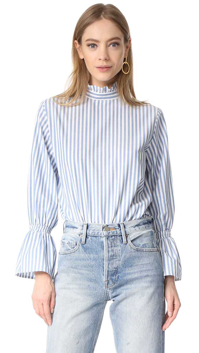 Clu Bell Sleeved Blouse