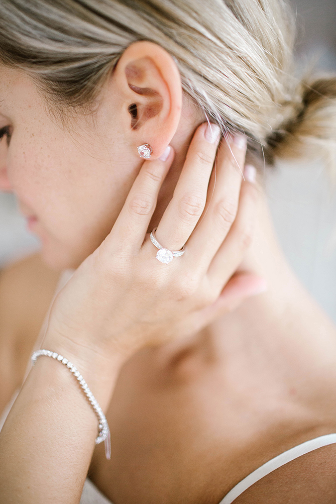 wedding day styling tips featuring James Allen jewels