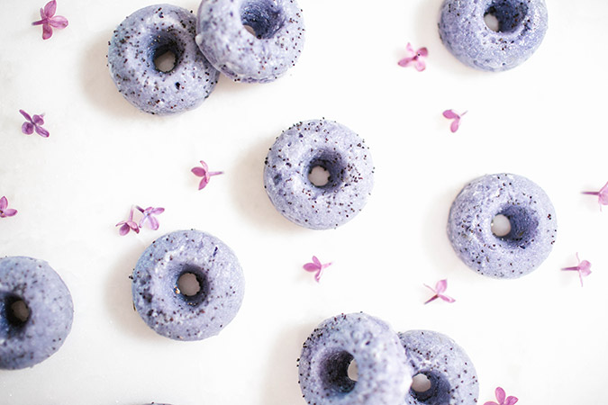 Edible Obsession Baked Lavender Poppyseed Donuts Lauren Conrad