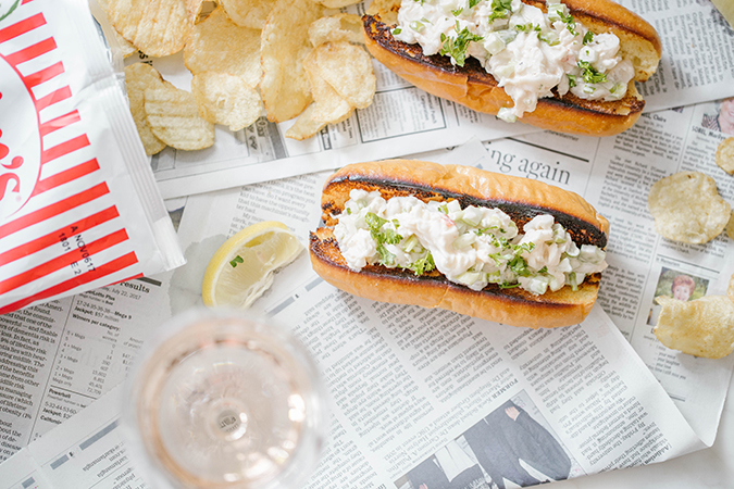 Homemade lobster rolls on LC.com
