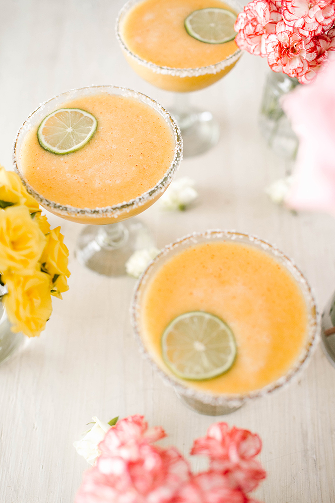 frozen peach margarita recipe on LC.com