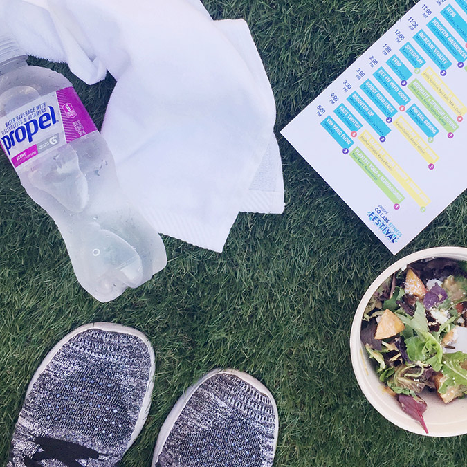 Propel fitness festival on LaurenConrad.com