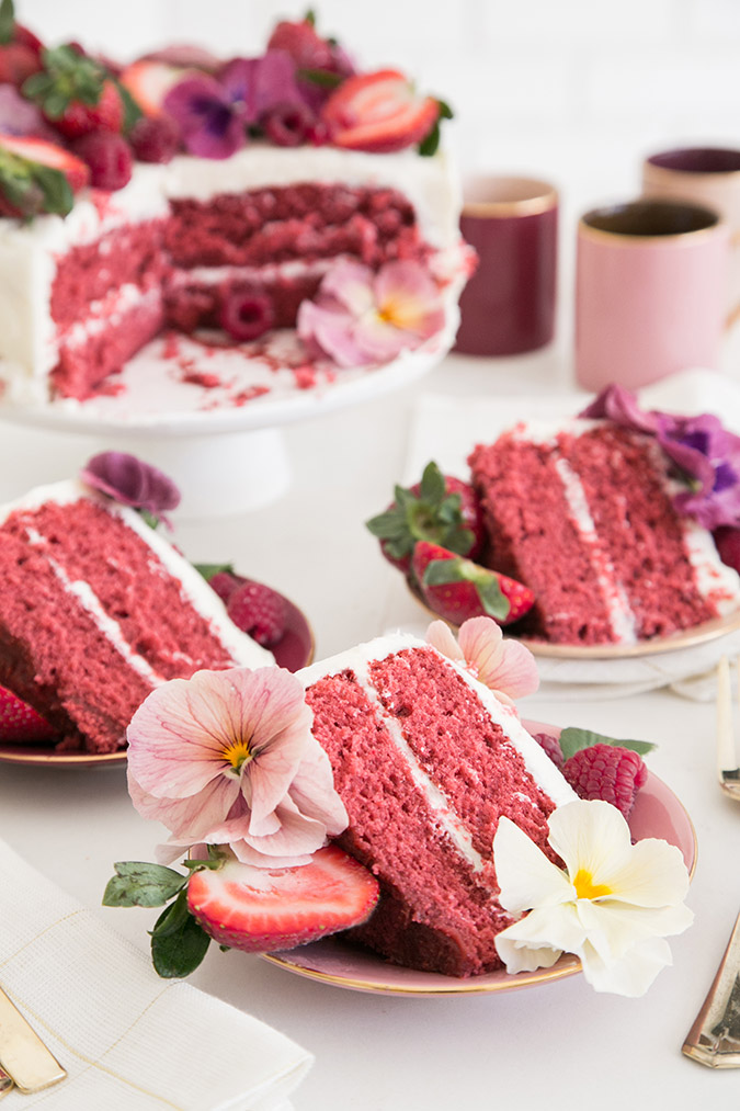 Favorite Confection: pink velvet cake by Sugar and Charm