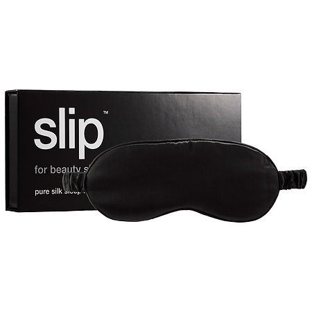 Slip Silk Sleep Mask in Black