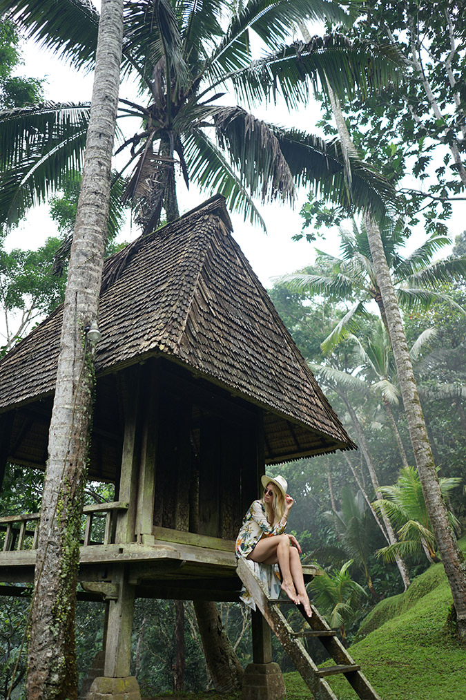 treehouse in Bali, Indonesia via LaurenConrad.com