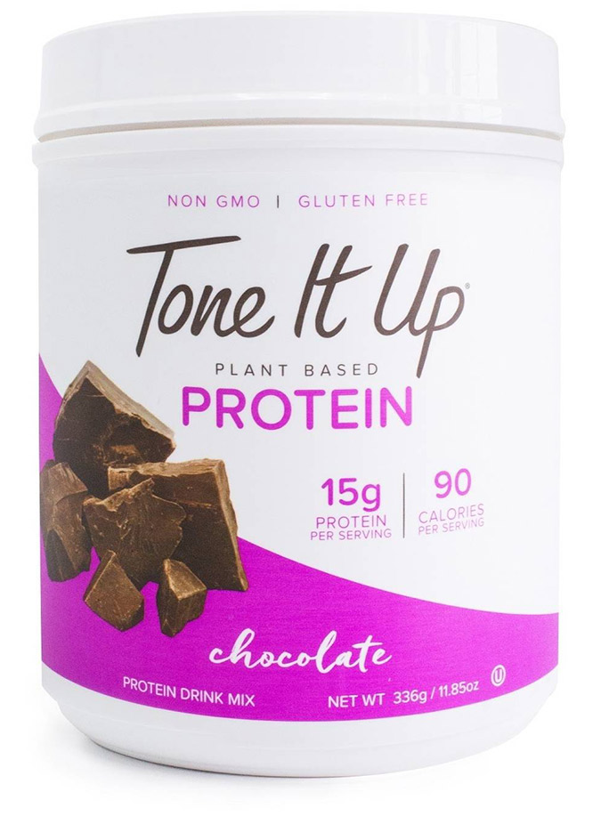Tone It Up Plant Based Protein Powder in Chocolate