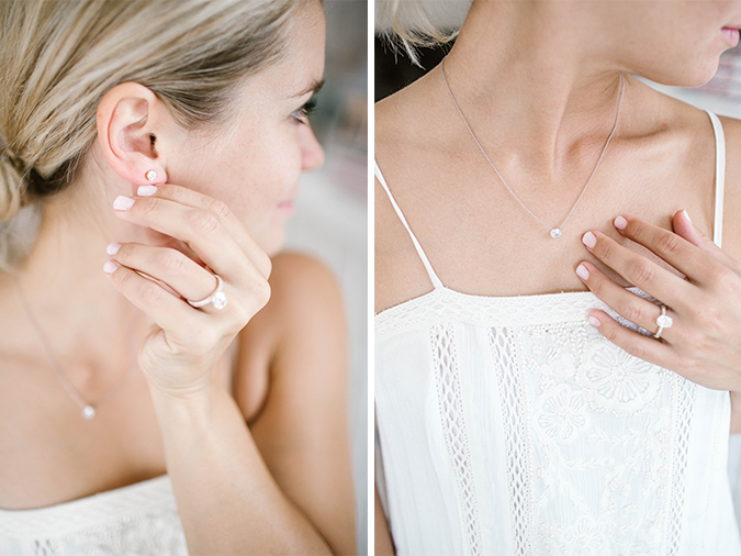 styling James Allen jewelry for your wedding day