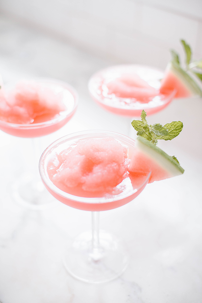 Watermelon moscow mule recipe on LaurenConrad.com