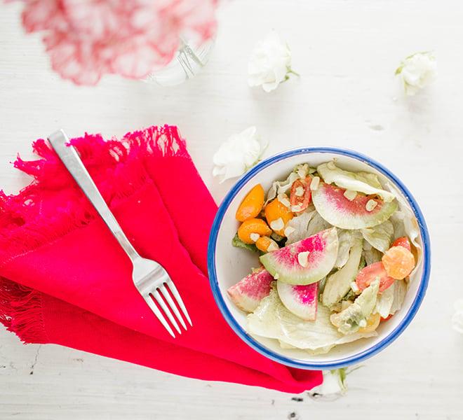 Recipe Box: Summer Chopped Veggie Salad