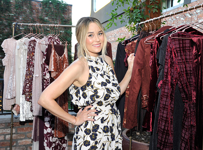 Lauren Conrad at her 3rd Runway Event