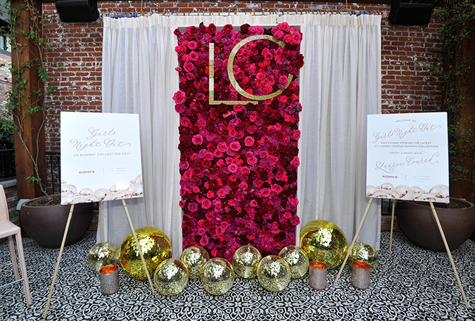 LC Lauren Conrad Runway event at Beauty & Essex