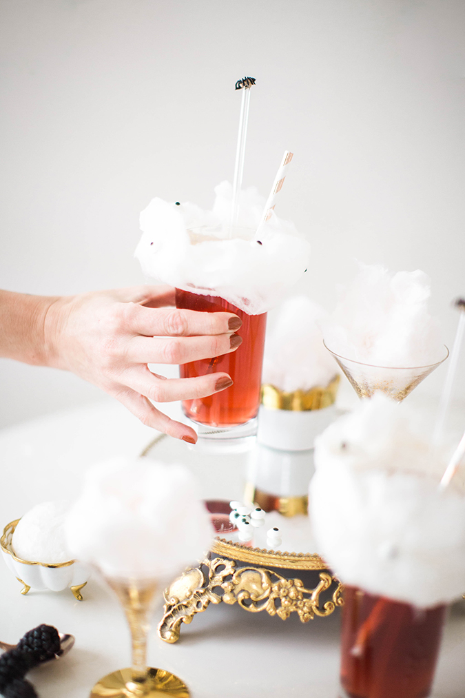 spooky Halloween cocktails via LaurenConrad.com