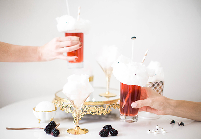 perfect cocktails for Halloween via LaurenConrad.com
